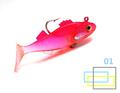 2016 7pcs lot Make it easily colorful soft rubber fishing bait lures bionic artificial wobbler accessories