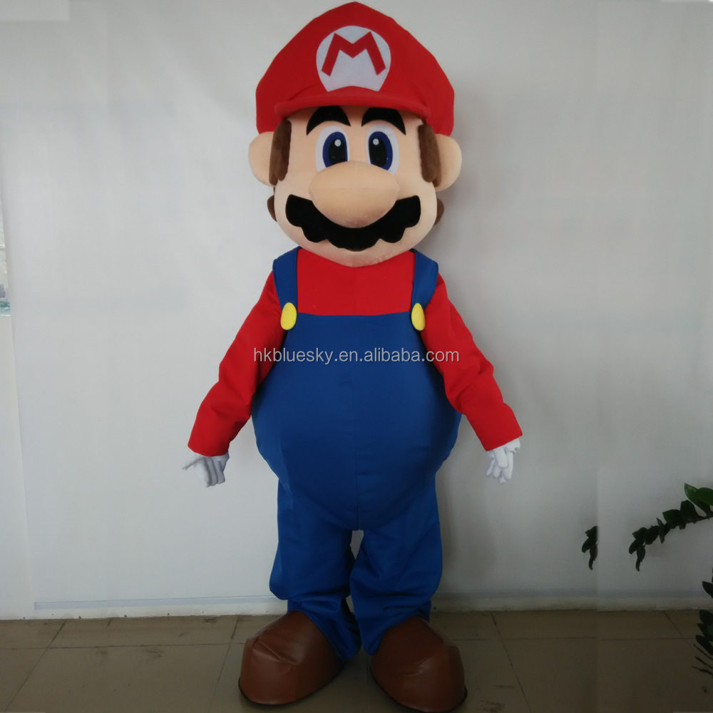New popular Super Mario Mascot,Super Mario Mascot Costumes