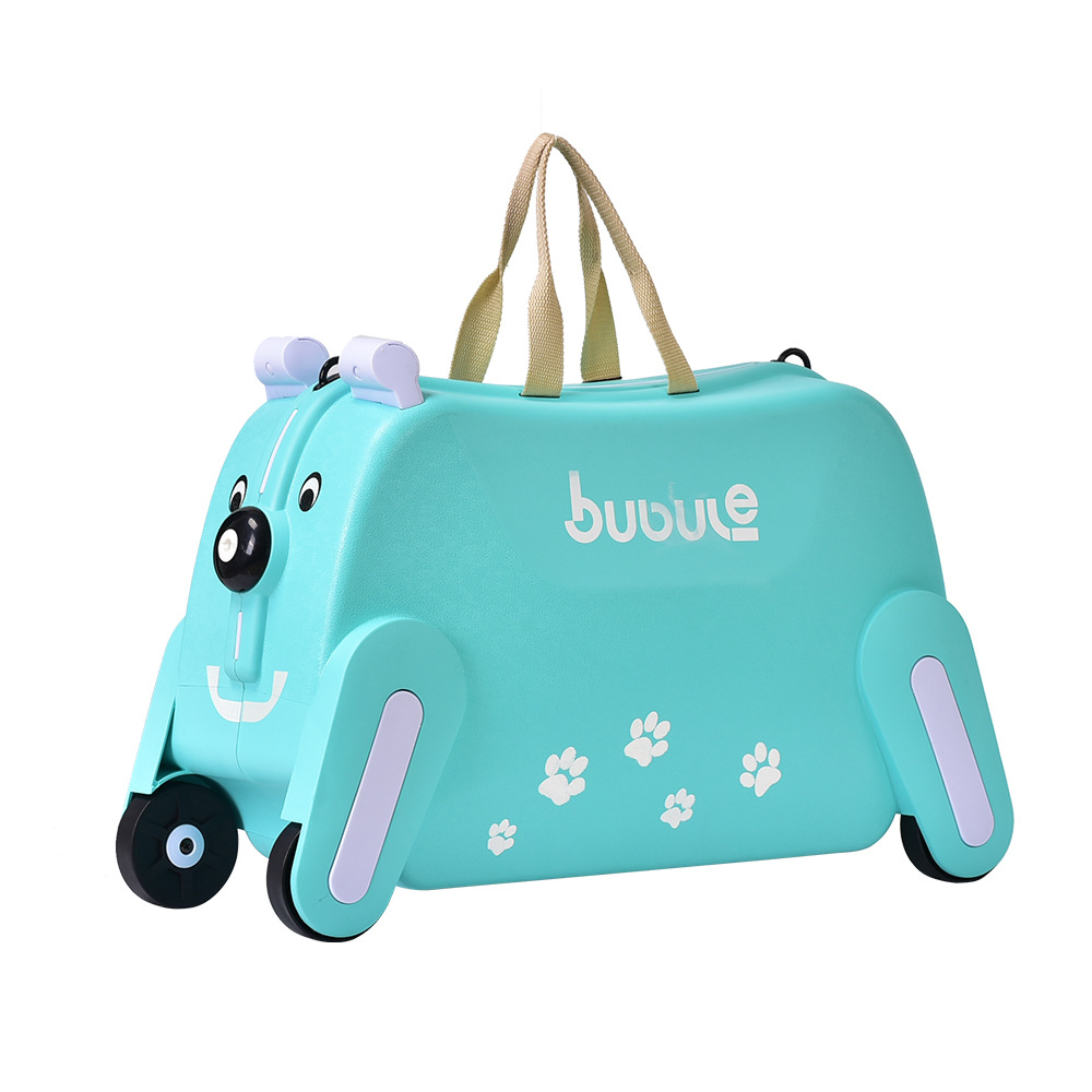 2019 China wholesale 3D ABS trolley luggage school bag kids travel bag