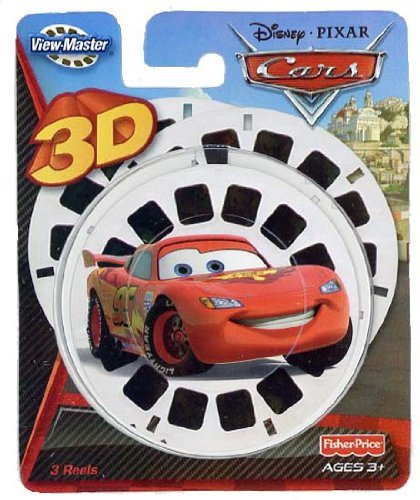 Cars2 - Fisher Price - ViewMaster 3 Reel Set - Cars 2