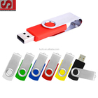 Promotional USB Flash Memory Flash Drive Of Swivel USB Flash Drive