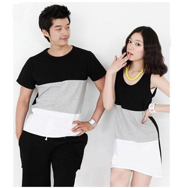 lovely cute korean couple tshirt buy korean couple t
