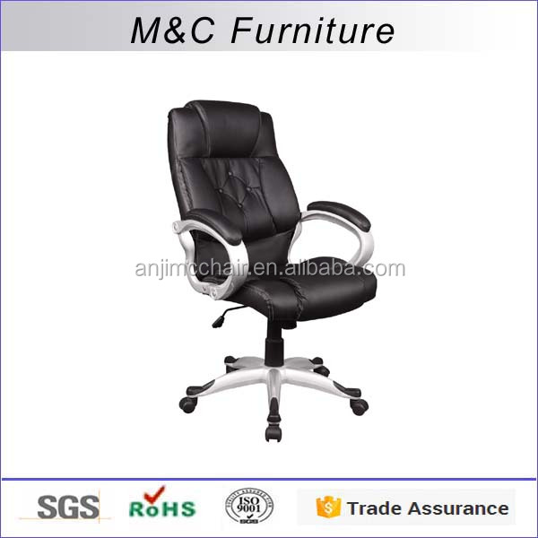 Thick cushion Chinese design funiture office chair with button