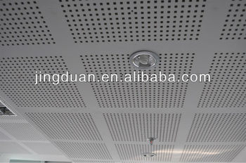 Gypsum Perforated Ceiling Board,wall Board Applited To School,hospital, Office