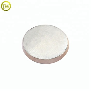 MFB114 Silver flat blank metal button sewing metal domed shank button for shirt