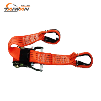 sewn loop ends wholesale ratchet lashing strap