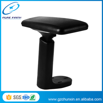 New Office Chair Parts Nylon And Aluminum Armrest With Pu