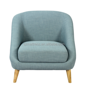 Modern Fabric One Seat Single Sofa Chair Low Price One Seat Sofa