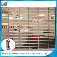 Strong Interior Stainless Steel Rolling Grille Door Wholesale Price