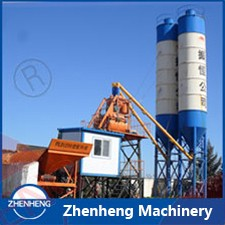 China Great Service Factory Price JS Series Stationary Double Twin Shaft Concrete Mixer