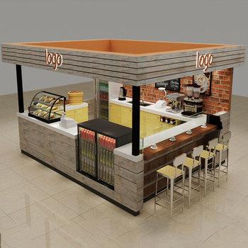 Bois Massif Café Kiosque Avec Comptoir De Bar Conception De Comptoir De Café à Vendre Buy Kiosque à Café Avec Comptoir De Barconception De