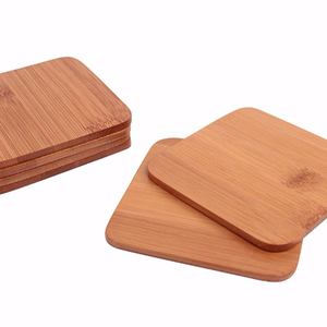 Hollow Wooden Kitchen Table Coasters Anti-heat Cup Pot Mat Placemat Pad