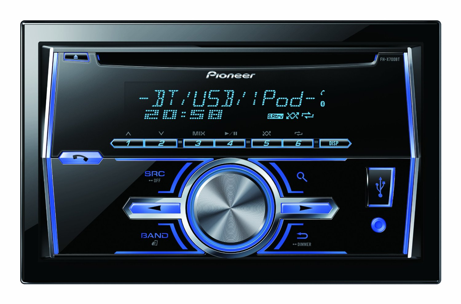 Buy pioneer deh-s3090bt car music system with cd player online at.