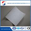 Needle punched staple polyester mat for waterproof membrane