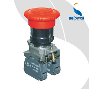 SAIP/SAIPWELL Emergency Push Button Switch High Quality Waterproof Micro Hoist Pushbutton Switch