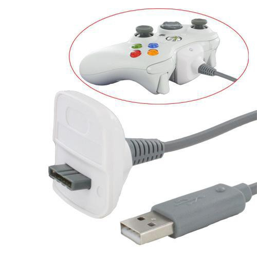Charger Replacement USB Charging Cable for Xbox 360 Wireless Game Controller New Arrival
