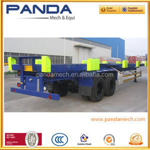 INDONESIA Port widely used trailers/ 40ft container trailers/ truck chassis for sale