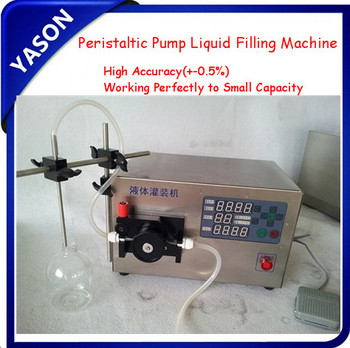 Peristaltic Pump Liquid Filling Machine Semi Automatic