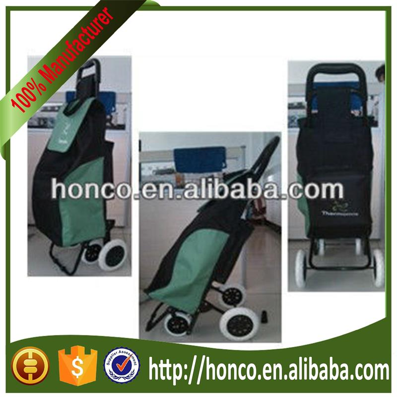 4 WHEEL FOLDING SHOPPING TROLLEY