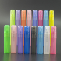 pocket mini recycled refillable atomizer pen perfume plastic spray bottle 5ml 10ml 15ml with spray top