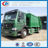good quantity howo 4x4 compactor garbage truck