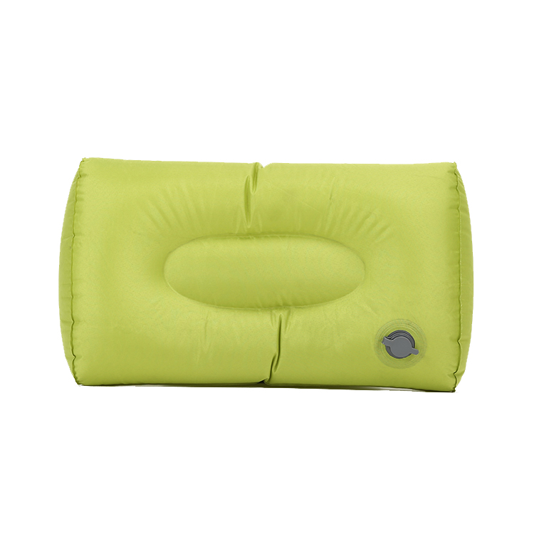 MSEE Design Spongy praia automática inflável cunha viagem cilindro travesseiro