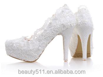 f78422d3adeb3b Latest new model design girls  wedding shoes flower platform shoes women  pumps high heel WS006
