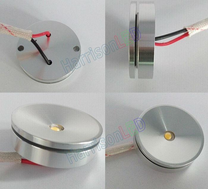 Ultra-thin 12v 24v Dc 1w 3w Cabinet Led Mini Spot Light