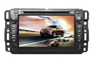 IN-DASH OEM REPLACEMENT RADIO DVD Gps NAVIGATION HEADUNIT FOR GMC Yukon 2007--2012 GMC Tahoe 2007-2012 GMC Acadia 2007-2012 Chevrolet Tahoe 2007--2012 Chevy Tahoe 2007--2012 Buick Enclave 2007--2012 CHEVROLET Suburban 2007-2012 Chevy Suburban 2007-2012 WITH REAR VIEW CAMERA
