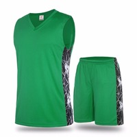 Professional custom cheap reversible basketball uniform made in china