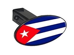 Cuba Trailer Hitch Cover Truck Receiver Hitch Plug Insert