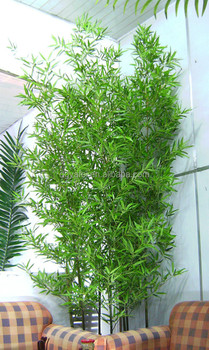 Trees Plant Type Mini Ornamental Bamboo Leaves Artificial