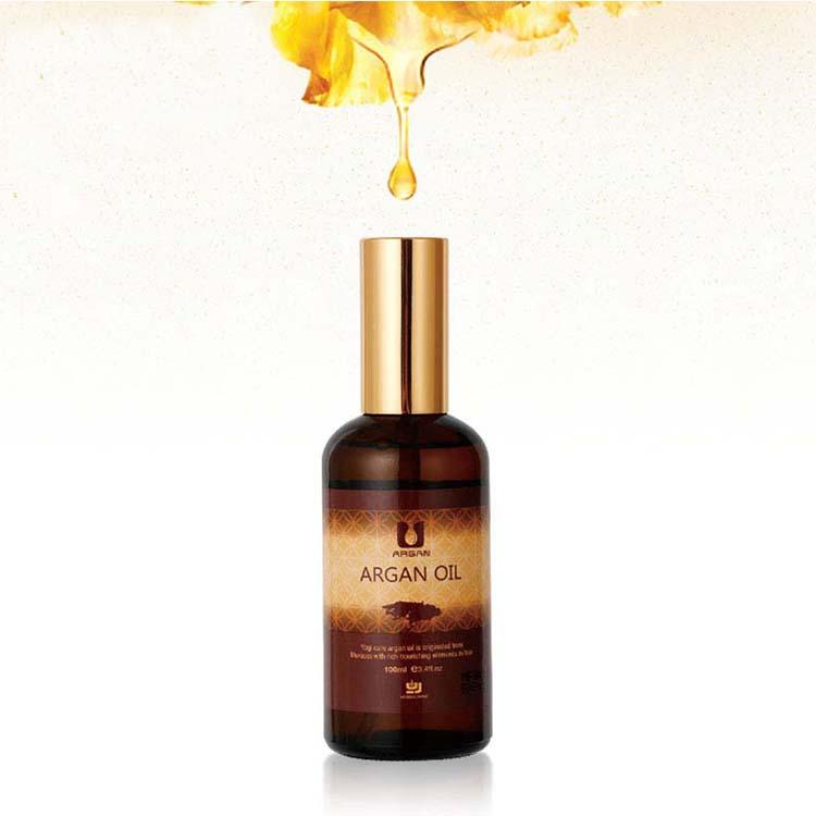 Nutriente olio di argan shampoo e balsamo puro olio di argan del collageno maschera per capelli spray per capelli