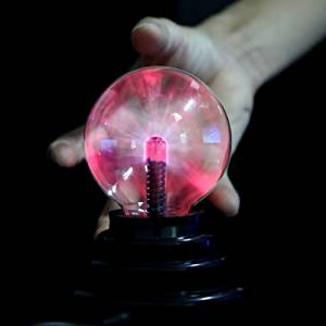 USB Plasma Ball Sphere Lightning Light Magic Crystal Lamp Globe Laptop