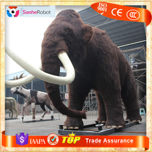 Iceage Outdoor Exhibition Life Size Animatronic Animated Mammoth