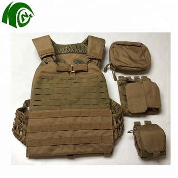 Kango Hot Sale Military Army Tactical Vest Polyester Oxford Molle System  Black Green Khaki Color Tactical Vest - Buy Tactical Vest,Vest