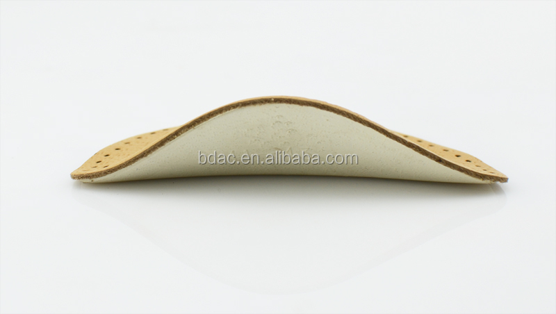 pu foam leather arch support foam insole arc support inserts