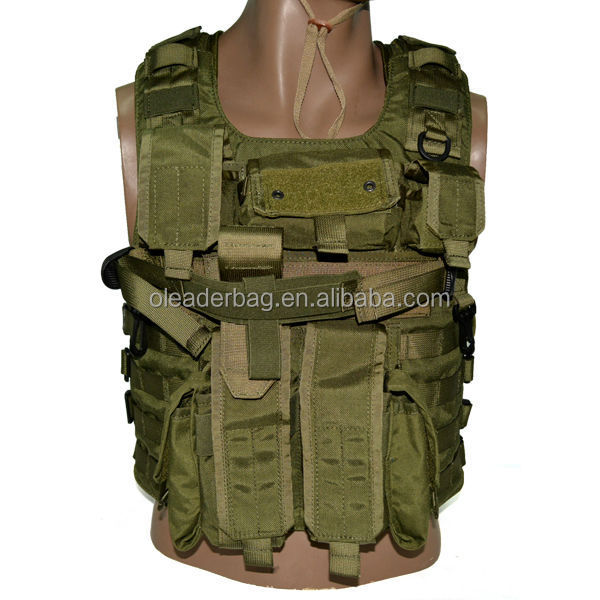 Main Wargame Multi-functional Plate Vest Pack Molle Mag Pouch With ...