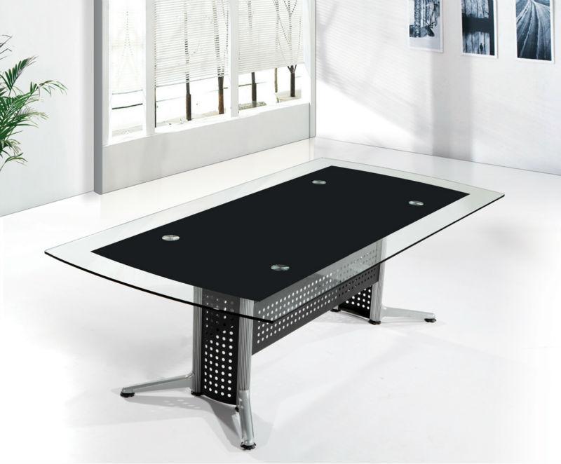 Superbe Black Conference Table,Tempered Glass Conference Table,China Conference  Table Mr Db027   Buy Black Conference Table,Tempered Glass Conference Table,China  ...