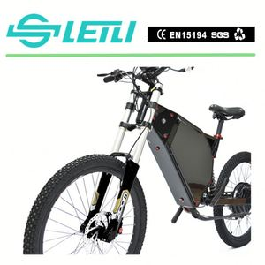 Full Suspensive 26 Inch Fat Tire Mountain Ebike