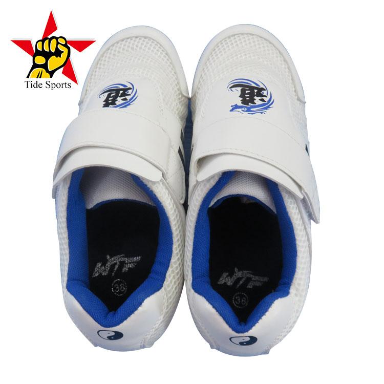 separation shoes db43d b9071 Durevole Ultimo Disegno Degli Uomini di Active Bianco Taekwondo Scarpe  Sportive