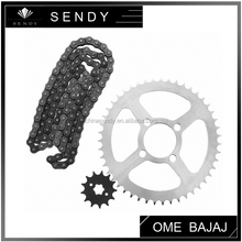 China supplier BAJAJ CT100 timing sprocket chain kit bajaj motorcycle spare parts