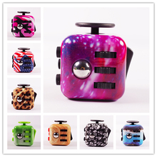 2017 Camouflage Painting Magic Puzzle Toy Anxiety Stress Fidget Cube