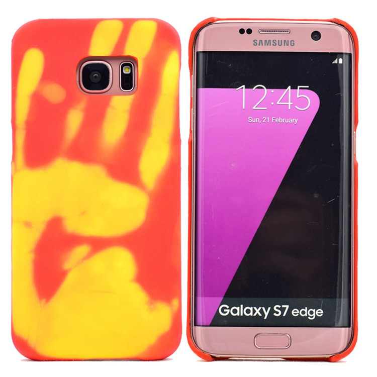 JESOY Color Changing Thermal Induction Phone Case For Iphone 8