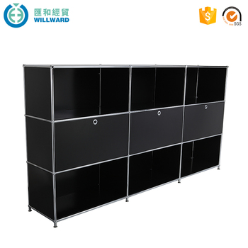 Office Cube Cabinet Organizer Wall Mounted Bookcase Modular Utility Filing Cabinets
