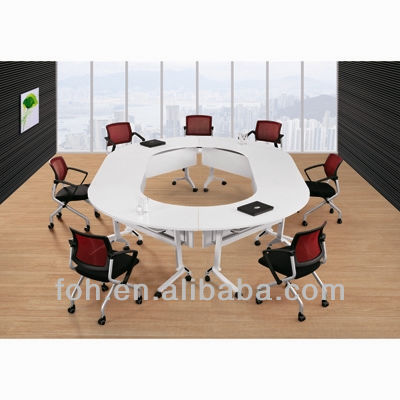 Movable Round Conference Table White Fohls Buy Round - Round conference table for 12