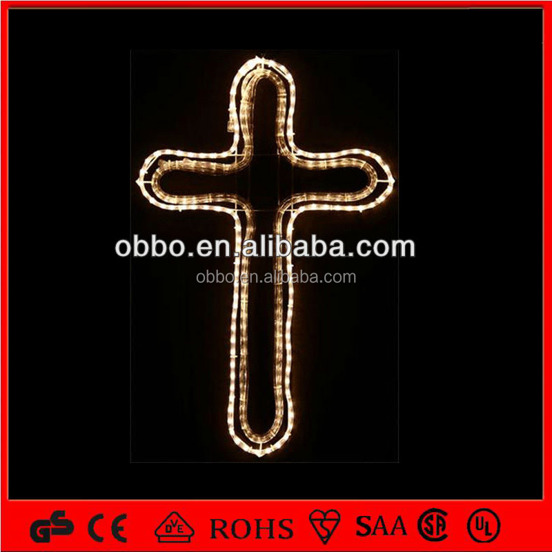 indoor and outdoor hanging led cross light IP44