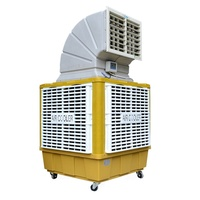 industrial quiet central water evaporative portable spot cooler air conditioner