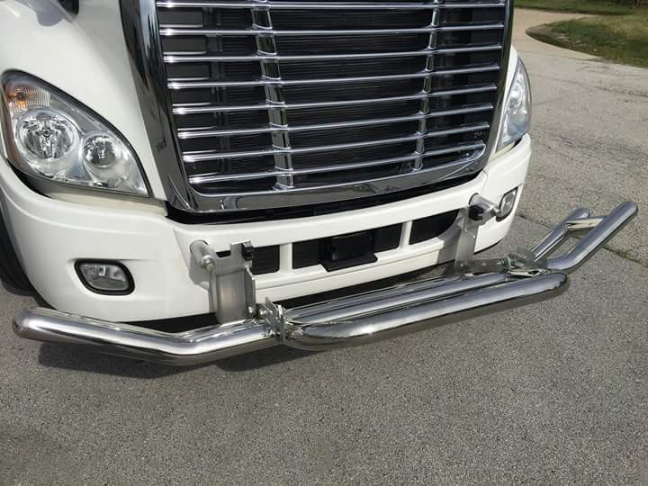 High Quality Stainless Steel Bumper Guard For Freightliner Cascadia Truck Bumper - Buy Cascadia