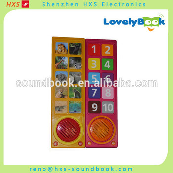 High quality baby musical toy,music module for children books for wholesales